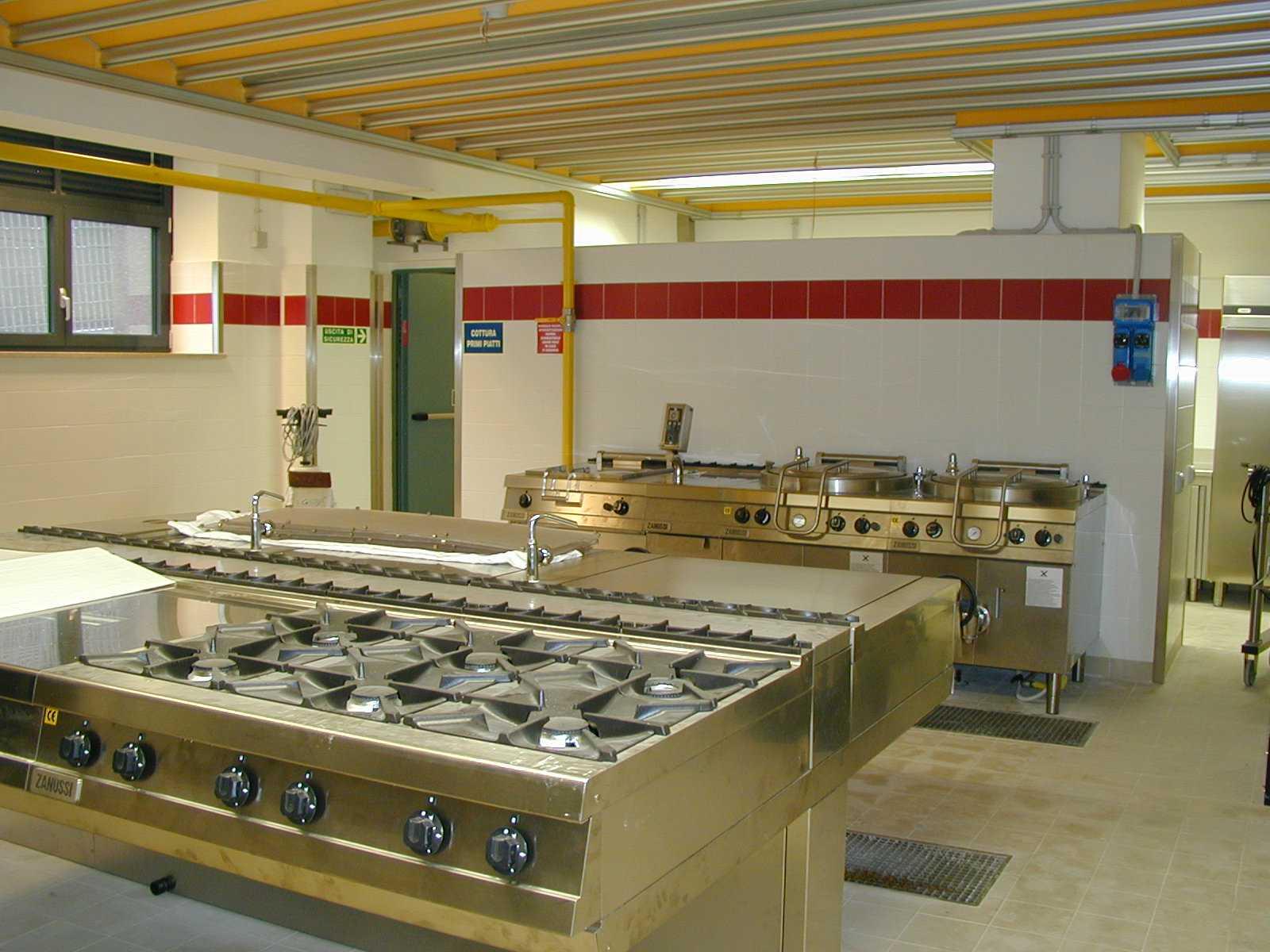 Realizzazione cucine industriali multiservice for Cucine industriali